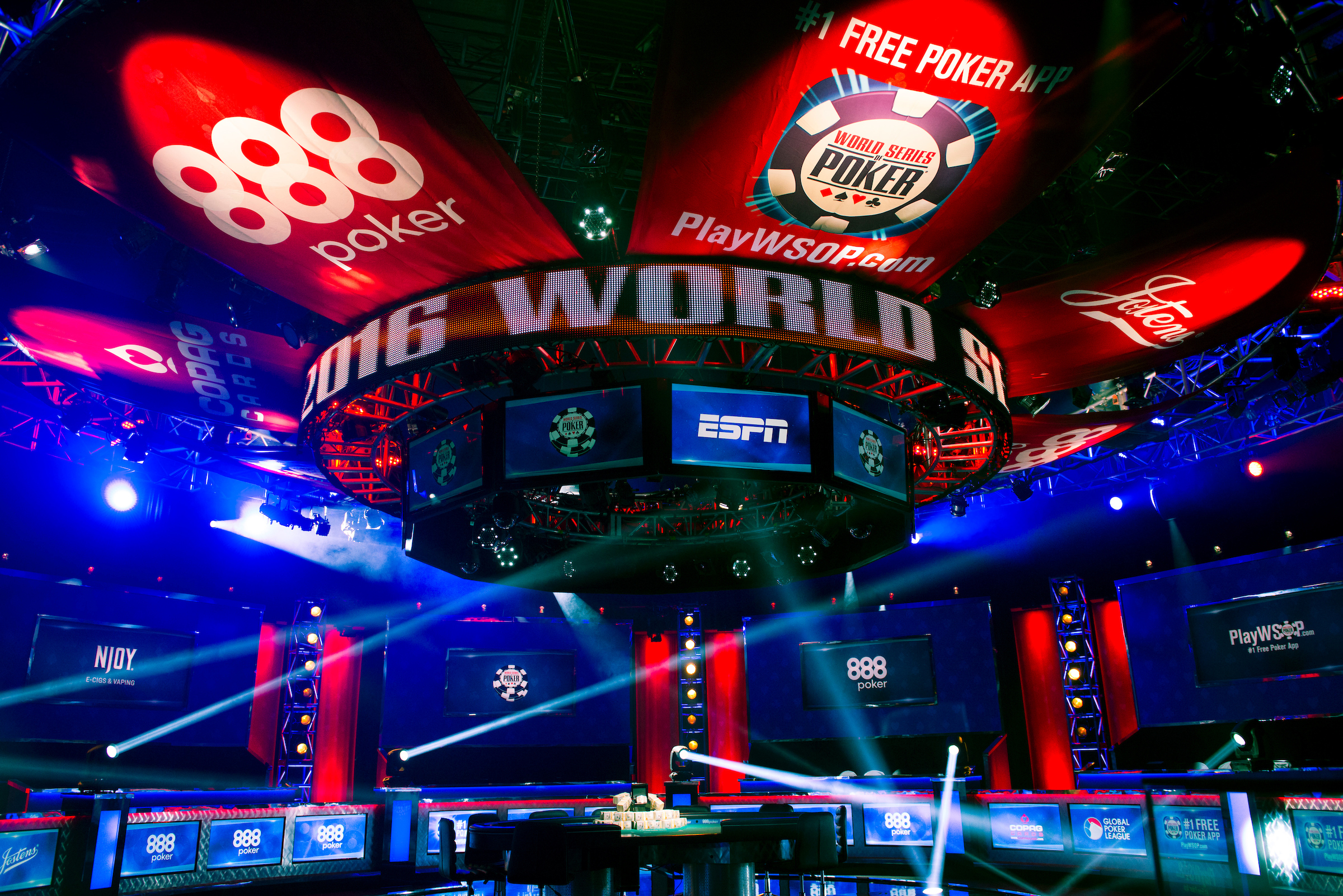 When is 2015 world series of poker on tv huge slot car track for sale