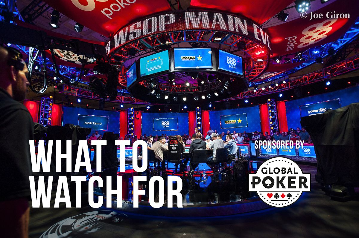 WSOP Day 44: Three More Bracelets Awarded As Main Event Finale Begins