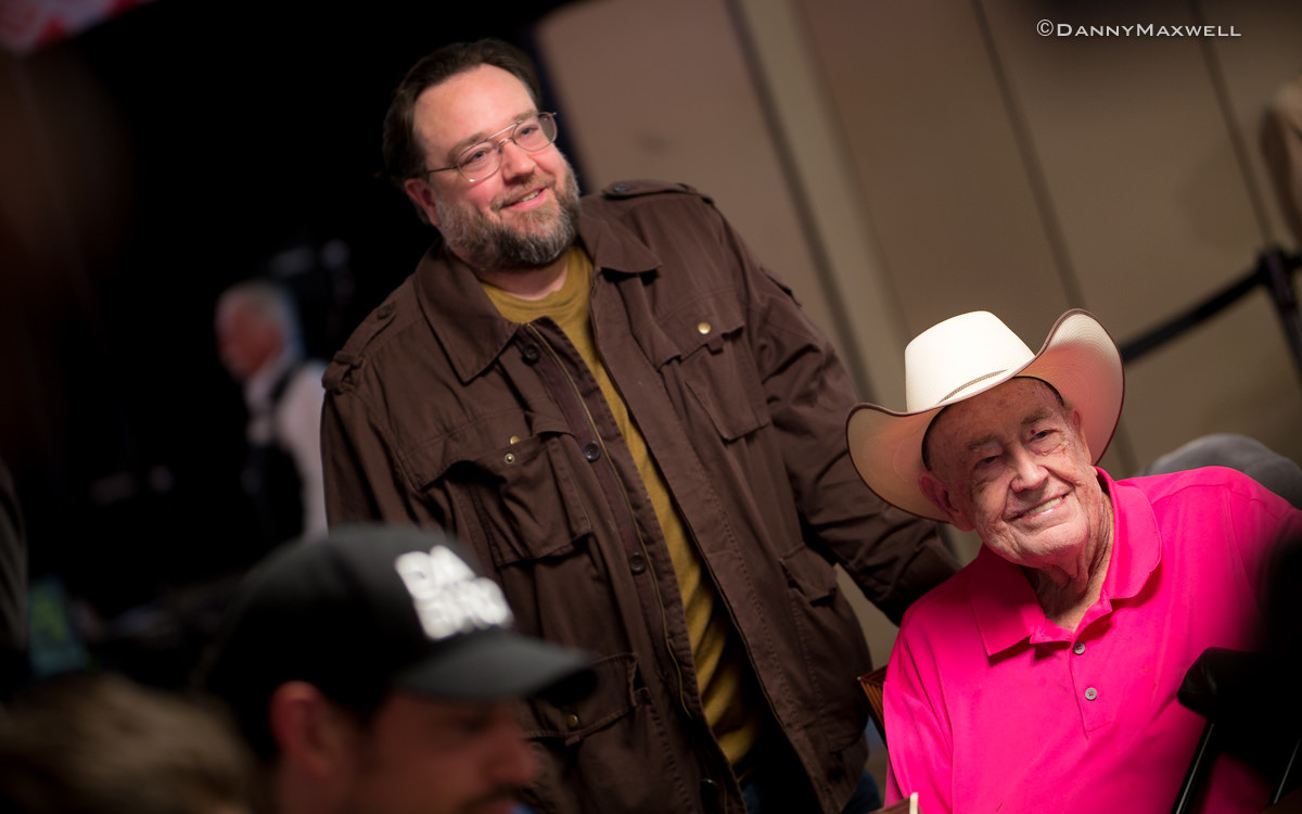 Interview: Doyle Brunson Talks About Teaming Up with Son