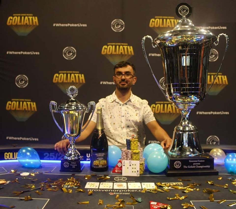 Goliath : Florian Duta empoche 811 fois sa mise sur le plus gros tournoi de l'histoire du poker 0001