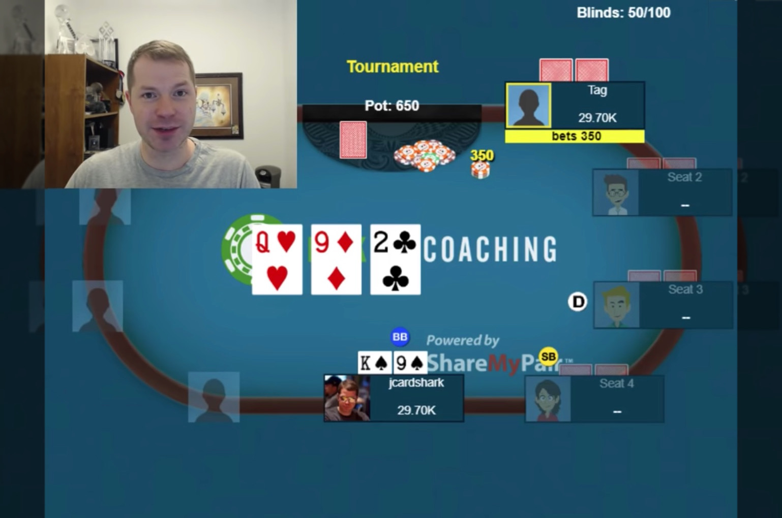 A Common Postflop Spot With Middle Pair