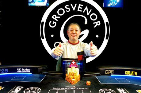 Reigning GUKPT Leeds champion Leung Cheung