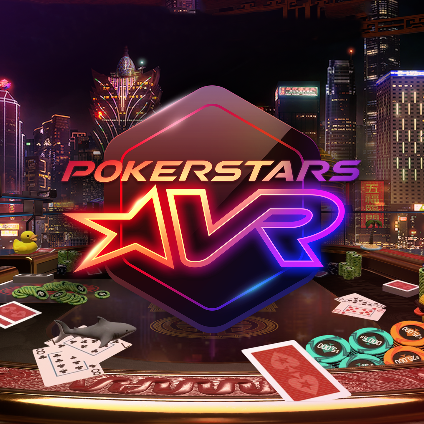 PokerStars VR Creates Live Poker Feel in Virtual Reality