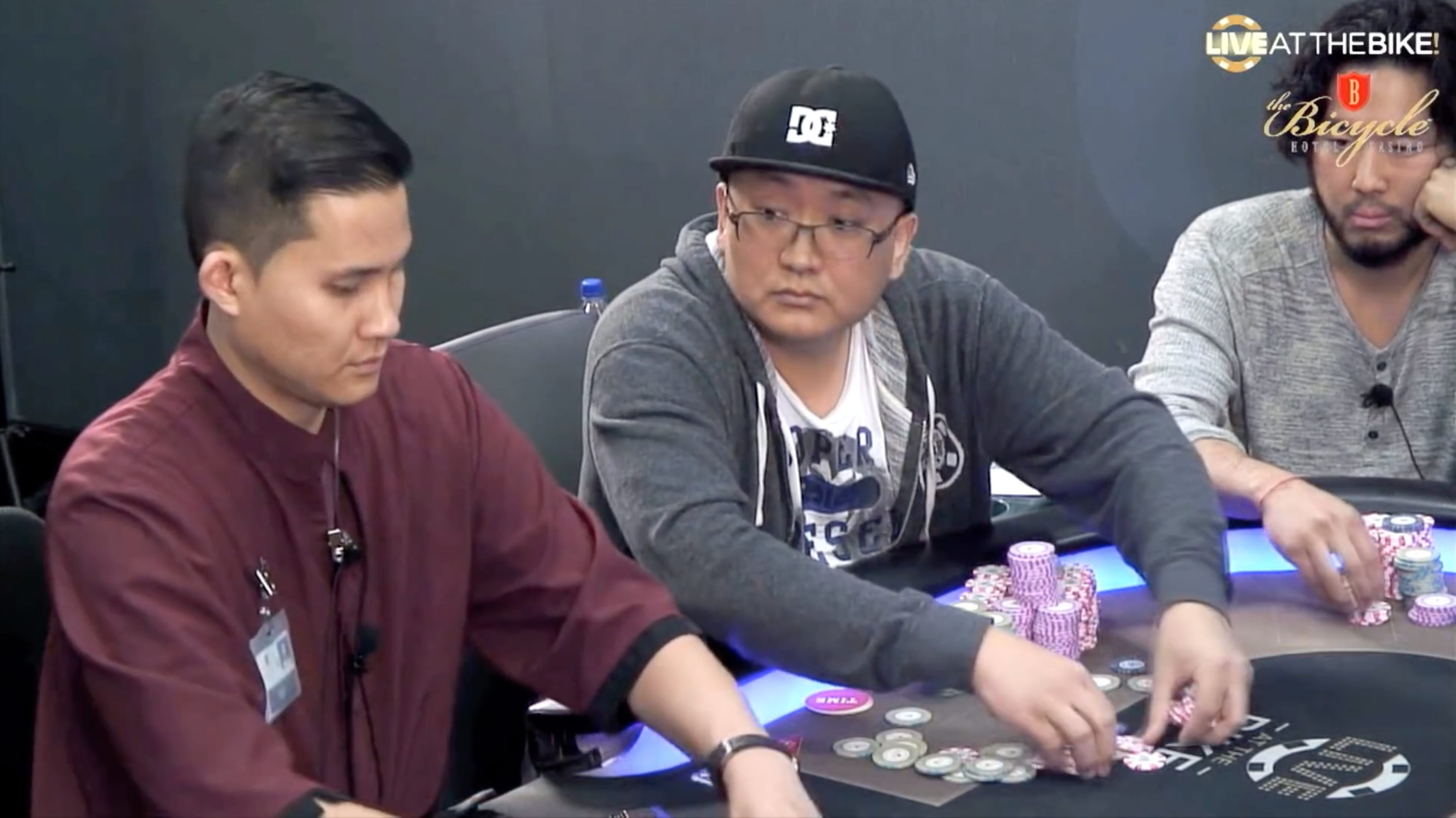 Watch The Biggest Pot In Live At The Bike History Pokernews