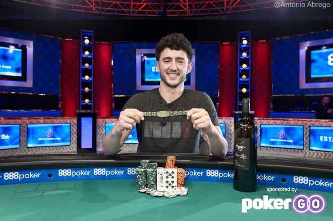 Alex Epstein Wins Event #8: $10,000 Short Deck for