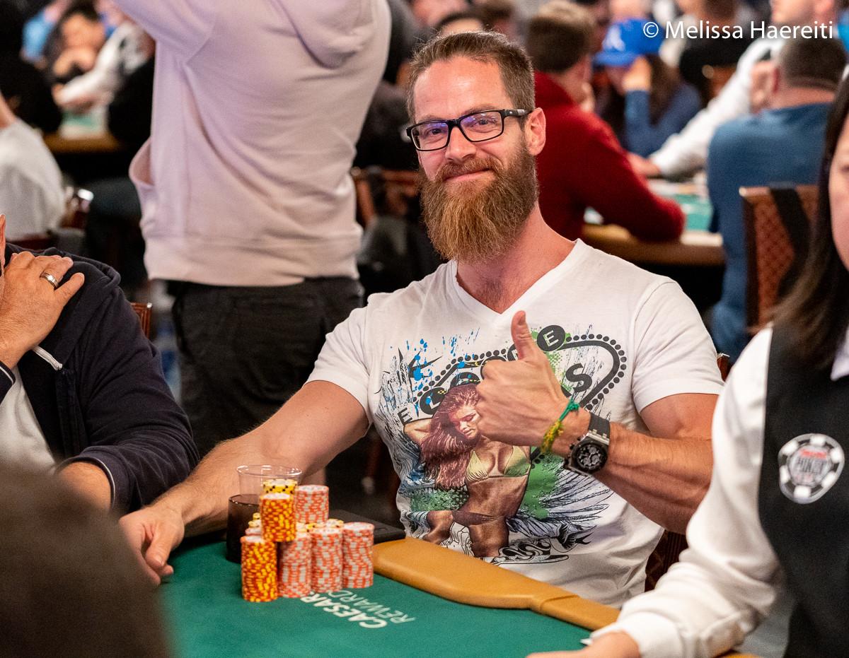 2019 WSOP (19) - Van Zadelhoff & Vonk met grote stacks naar Dag 3 van $1.000 Double Stack