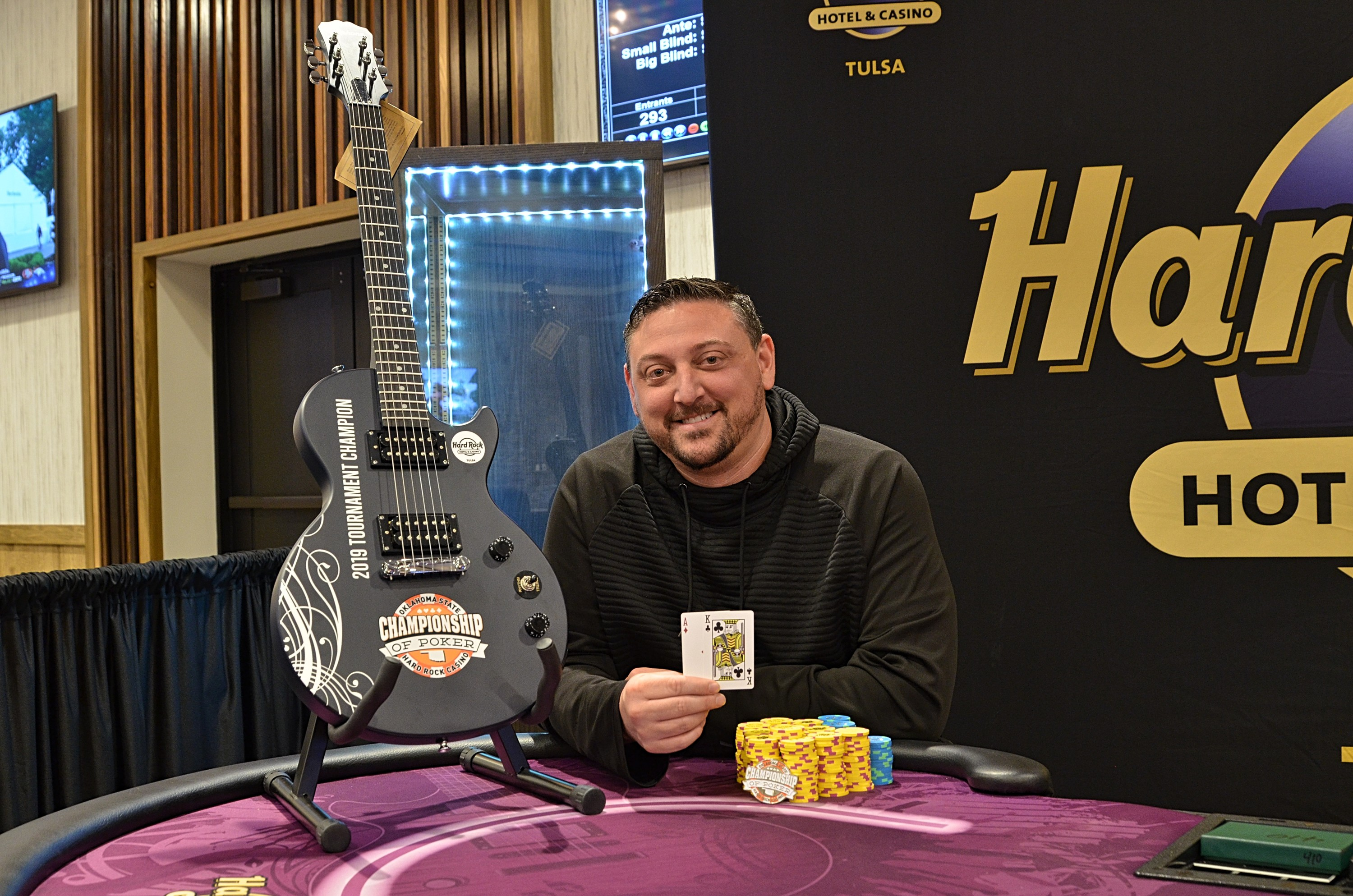 Simon Webster Wins 15th Annual Oklahoma State Poker