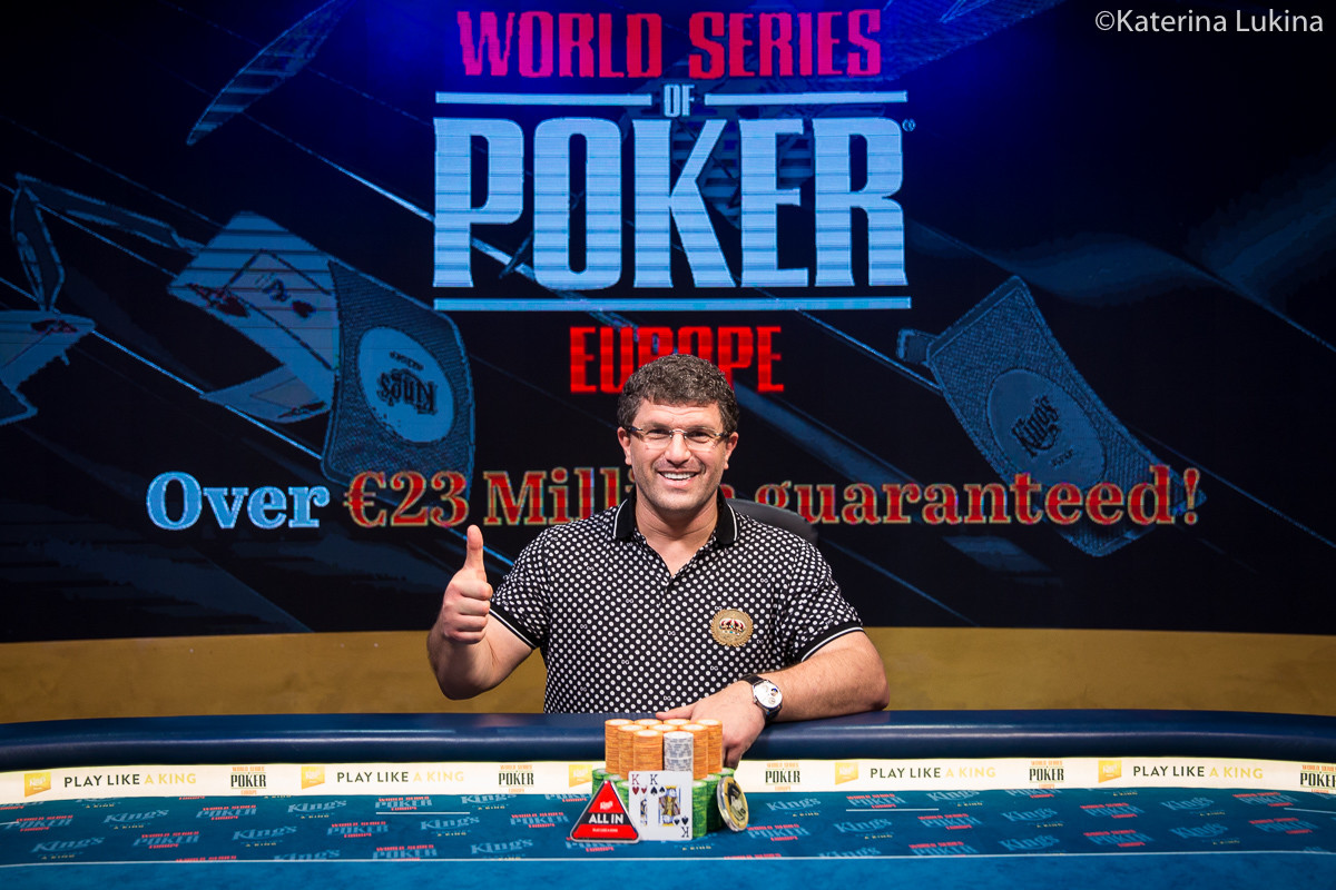 Leon Tsoukernik Beats Phil Ivey to Win King's 100K Short Deck (€1,102,000)