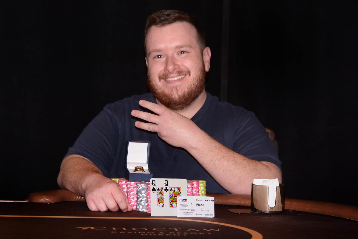 Nathanael Kogel Wins WSOPC Choctaw Durant Main Event for $256,915