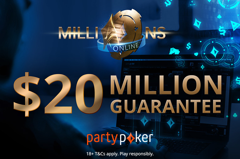 Day 1A of the partypoker MILLIONS Online Attracts 709 Entries