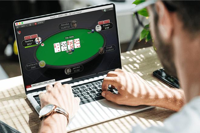 Overschakelen van live naar online cash games