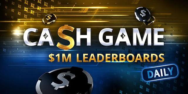 partypoker Daily Cash Game Leaderboards