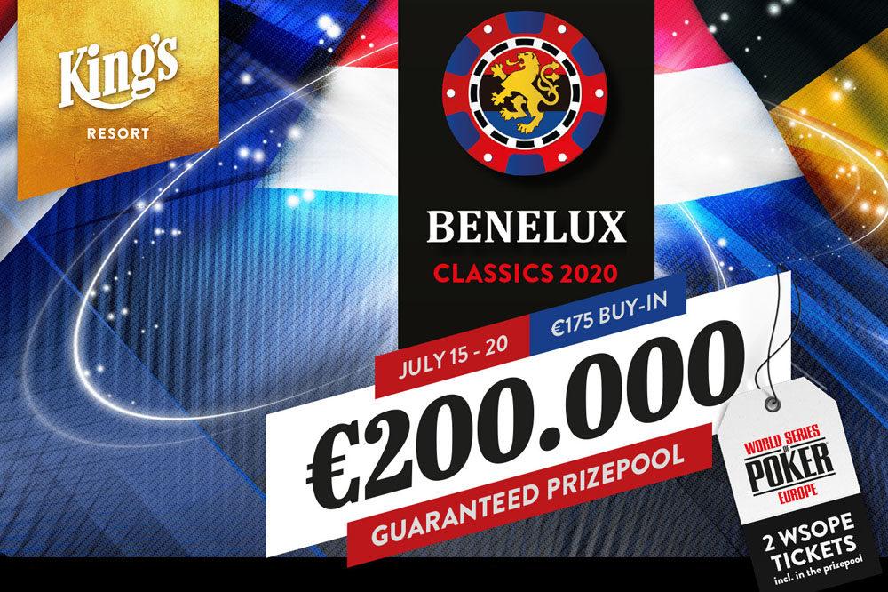 Benelux Classics van 15 tot en met 20 juli in King's Casino Rozvadov