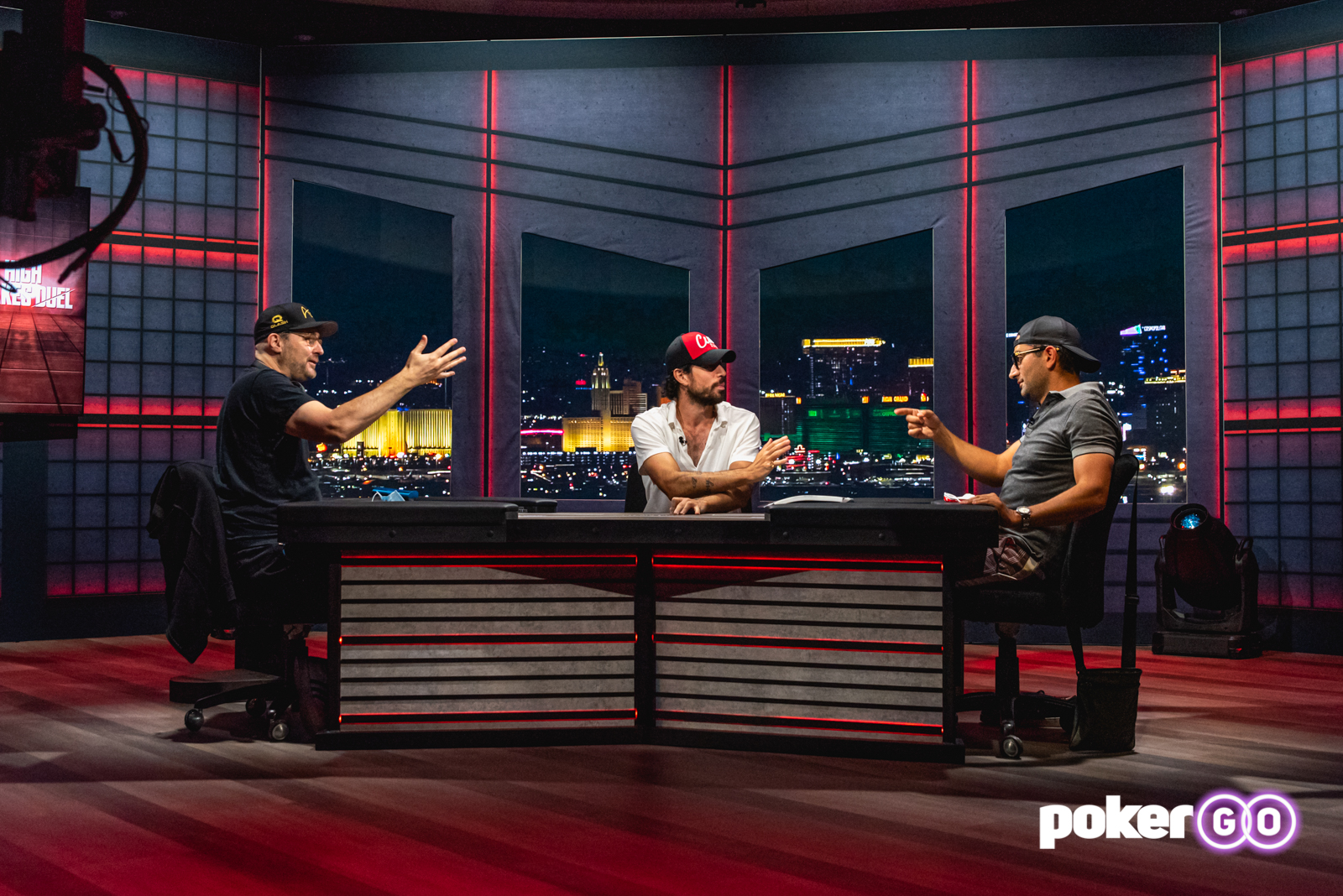A Behind-the-Scenes Look at PokerGO's Hellmuth vs. Esfandiari High Stakes  Duel | PokerNews