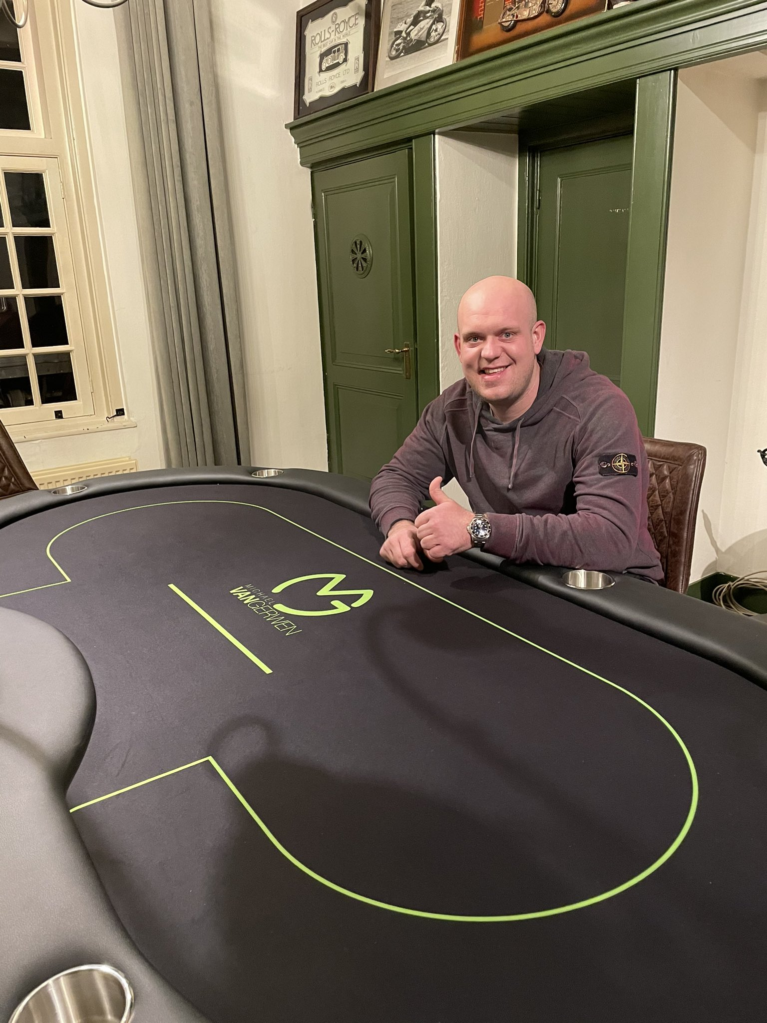 Michael van Gerwen poker