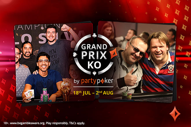 $2.2M Gtd Grand Prix Knockout Series Heads to partypoker   PokerNews
