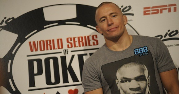 UFC Champion Georges St-Pierre's 888poker Commercial