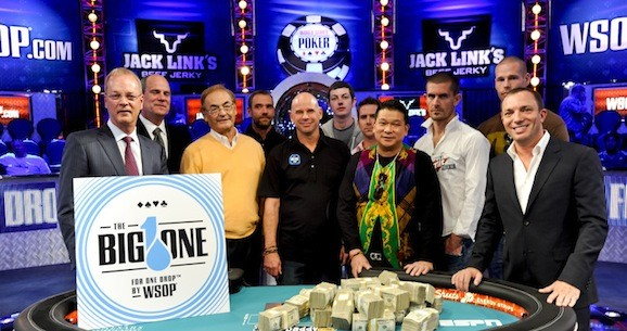 The Big One For One Drop: Millions in Amateur Money