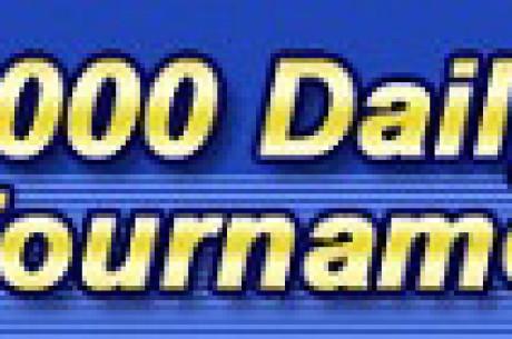 $ 7,000 tägliches Poker Turnier