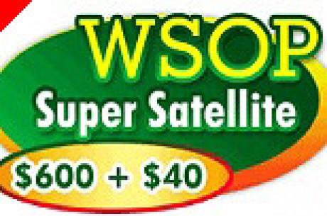PartyPoker.com WSOP Super Satellite - $600 + $40