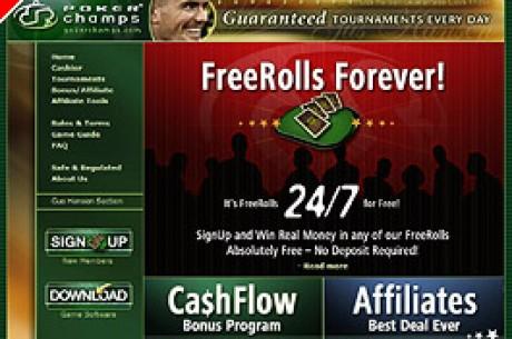 Poker Champs vient de proposer des tournois gratuits pour tous les fans de poker