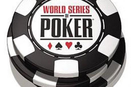 Le joueur de poker Maciek Gracz gagne le tournoi de No Limit Holdem re-buy aux WSOP 2005.
