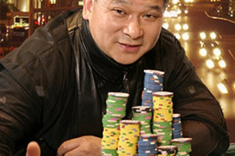 Johnny Chan takes the lead in the greatest poker race ever