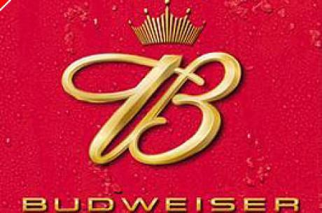 Budweiser ist der Toast von World Poker Tour