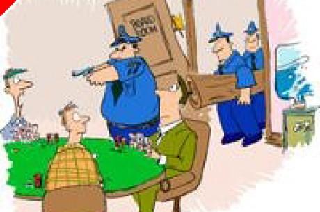 Une descente de Police lors de l'Italian Poker Open - J'y étais