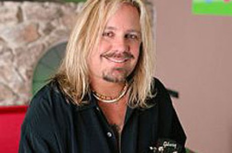 The Crue's Vince Neil Rocks The Poker World