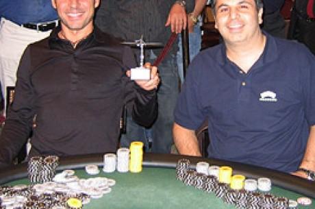 Tournoi de poker à 1000€ des Hold'em Series : Charlie Amoyal vainqueur