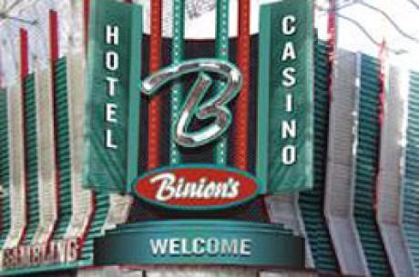Storslagna pokerturneringar återvänder till Binion