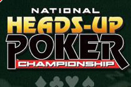 Intressant matchning i NBC National Heads-up Poker Championship