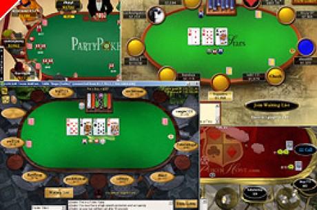 Onlinefragebogen für wissenschaftliche Untersuchung zum Thema Online Poker