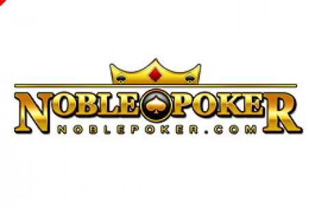 Équipe PokerNews : freeroll Noble Poker samedi 15 avril