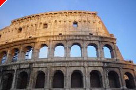Poker italien: le mur s'effondre