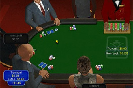 Poker in 3D Is a Virtual Reality