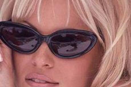 Poker-par: Pamela Anderson og Doyle Brunson