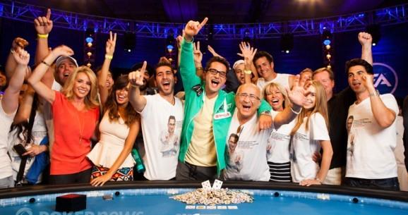 As reacções dos pros à vitória de $18M de Antonio Esfandiari