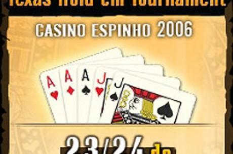 1º Torneio Oficial de Poker Texas Hold'em num Casino em Portugal