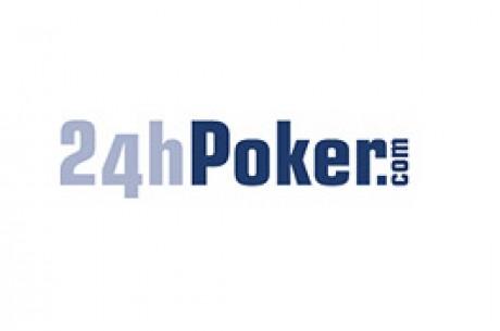 24h Pokerがブラウザーバージョンゲームを開始
