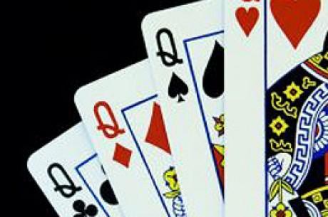 ポーカーテーブルでMiss Poker Faceを探しています。