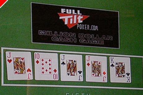 På settet: Milliondollars cashgame