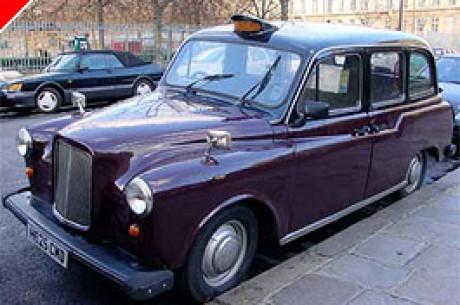 Los taxis londineses tienen póquer interactivo.