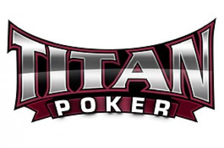 Få $50 i bonus hos Titan Poker og bliv en af jackpotvinderne