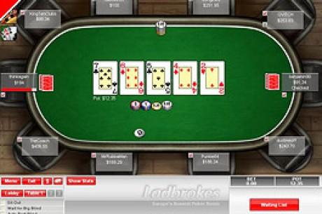 Ladbrokes startet mit neuer Online - Poker Plattform