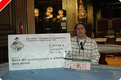 II Texas Hold'Em Poker em Portugal – Dia 2 – Dário Ferreira Grande Vencedor