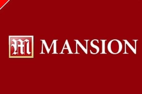 $100,000 Garantert Turnering HVER dag hos MANSION Poker!
