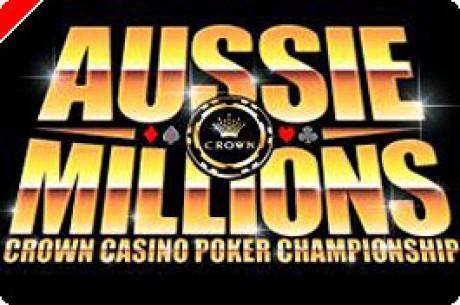 PokerNews.com tuo sinulle Aussie Millions-turnauksen ajantasalla!