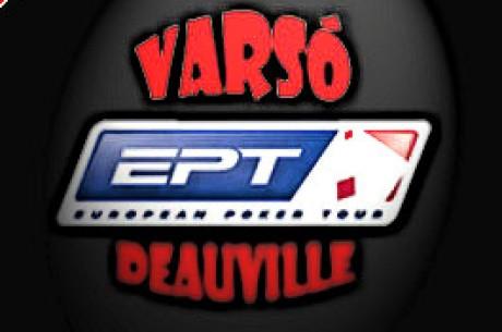 Törölték az EPT Deauville versenyt, meghirdették az EPT Varsót!